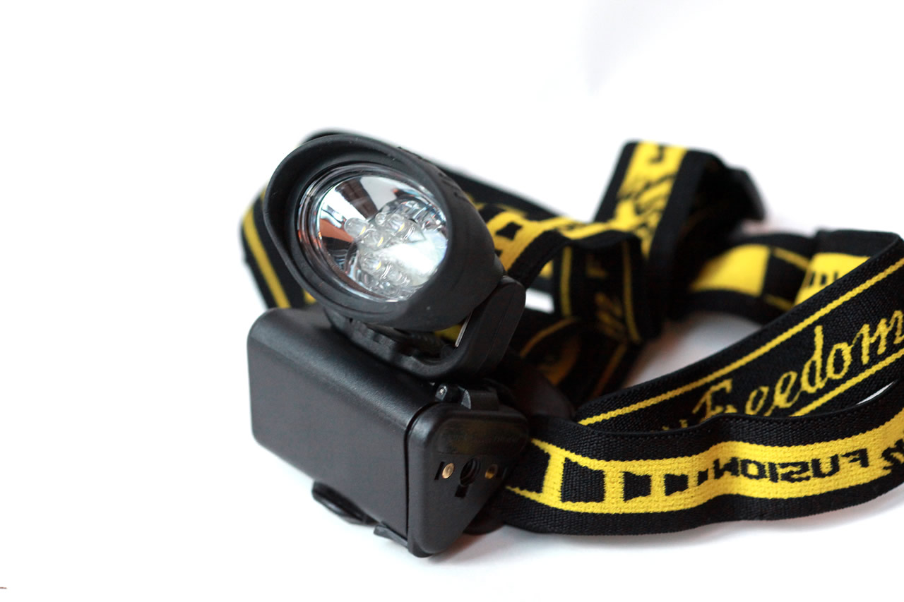 Photon Freedom Fusion LED Headlamp / Utility Light  Red Beam W/ Yellow Secondary