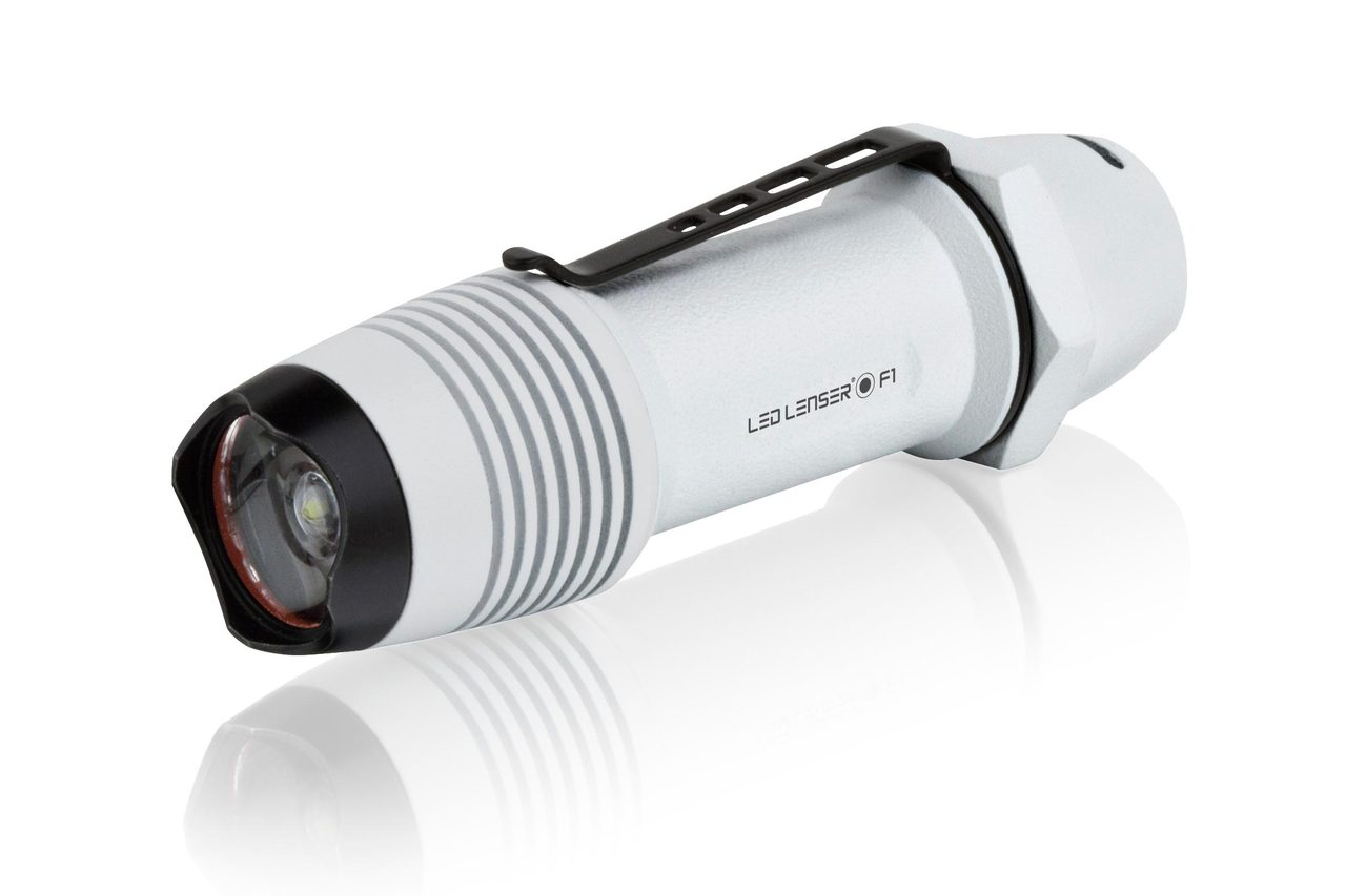 LED Lenser F1W Flashlight  White