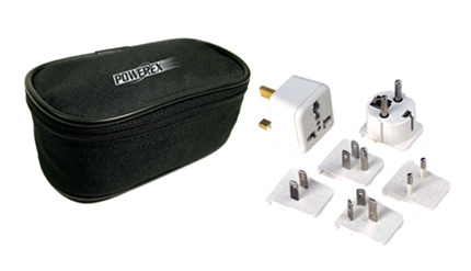 PowerEx International Travel Plug Adapter Kit