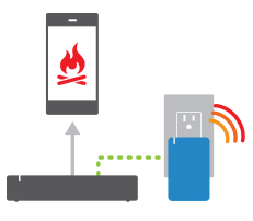 Insteon Smoke Bridge detects signal and sends alert