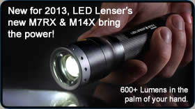 Browse LED Lenser Flashlights