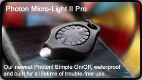 Photon II Pro keychain LED flashlight
