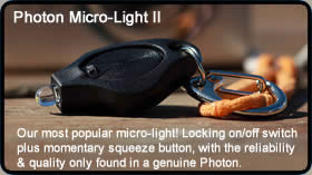 Photon Micro-Light II LED Keychain Flashlight