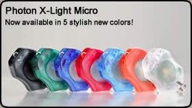 Photon ReX Li-Ion Rechargeable Micro-Light